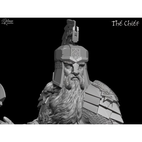 The Chief.Bust with Helmet