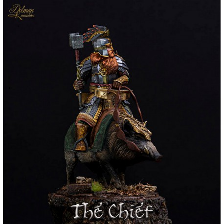 The Chief on boar,54mm