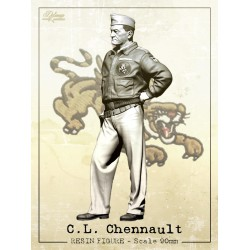 C.L.Chennault.Scale 90mm