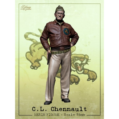 C.L.Chennault.Scale 75mm