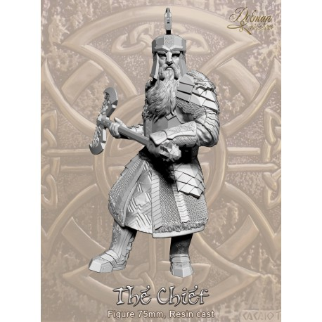The Chief .Figure with Helmet.75mm