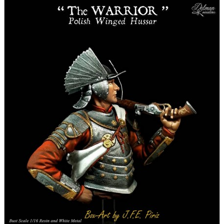"""The Warrior.""""Polish Winged Hussar""""Bust 1/16"""