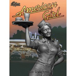 American Girl.Bust 1/10
