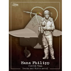 Hans Philipp 75mm with Bf109 tail