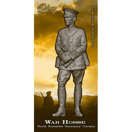 """War Horse"".North Somerset Yeomary Cavalry.90mm"