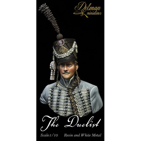 """French Hussar""""The Duelist"""".Bust 1/10"""