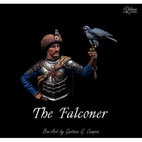 """The Falconer"",Bust 1/16"